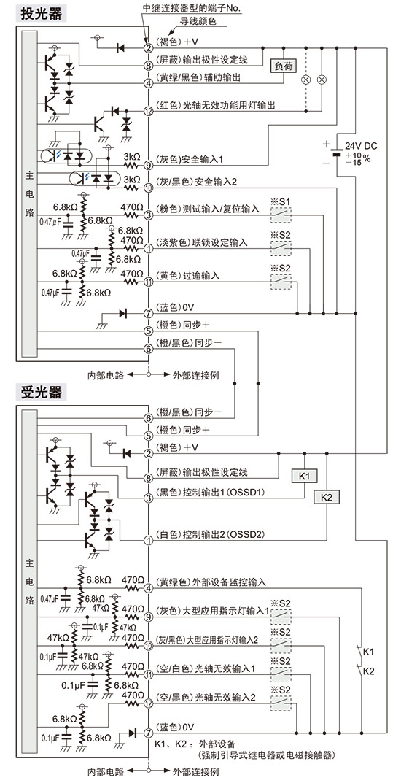 光幕电源电路图
